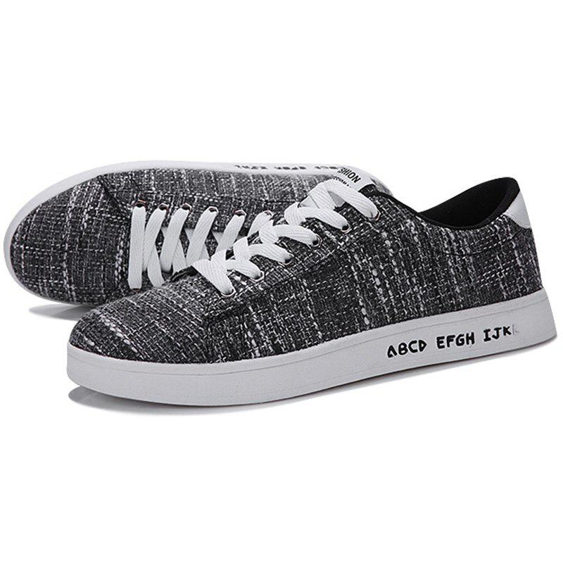 Fancy Students Mesh Casual Flat Shoes for Man