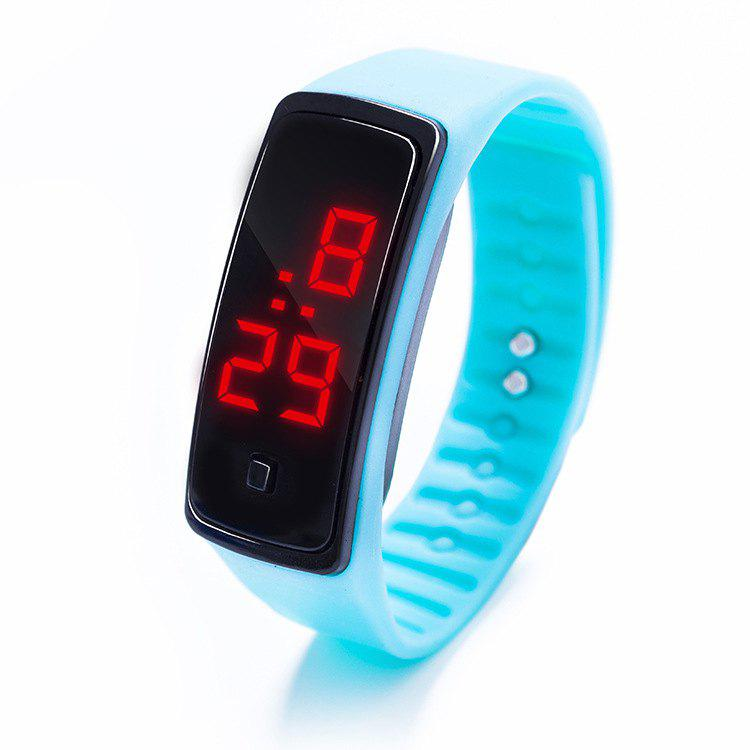 Fashion LED Silicone Electronic Sports Watch