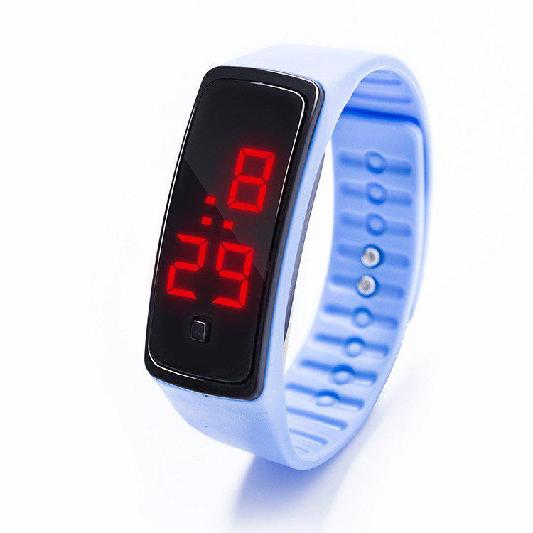 Discount LED Silicone Electronic Sports Watch