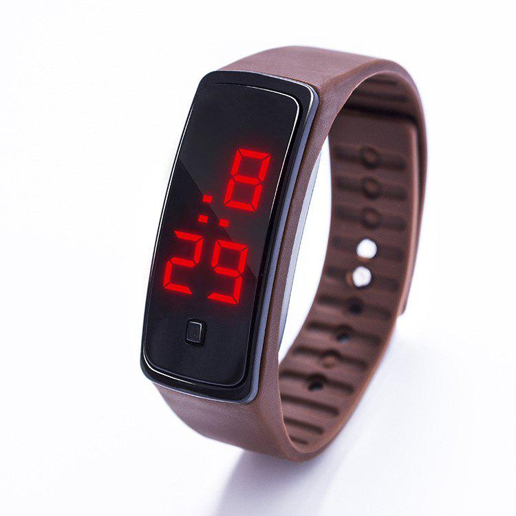 Sale LED Silicone Electronic Sports Watch