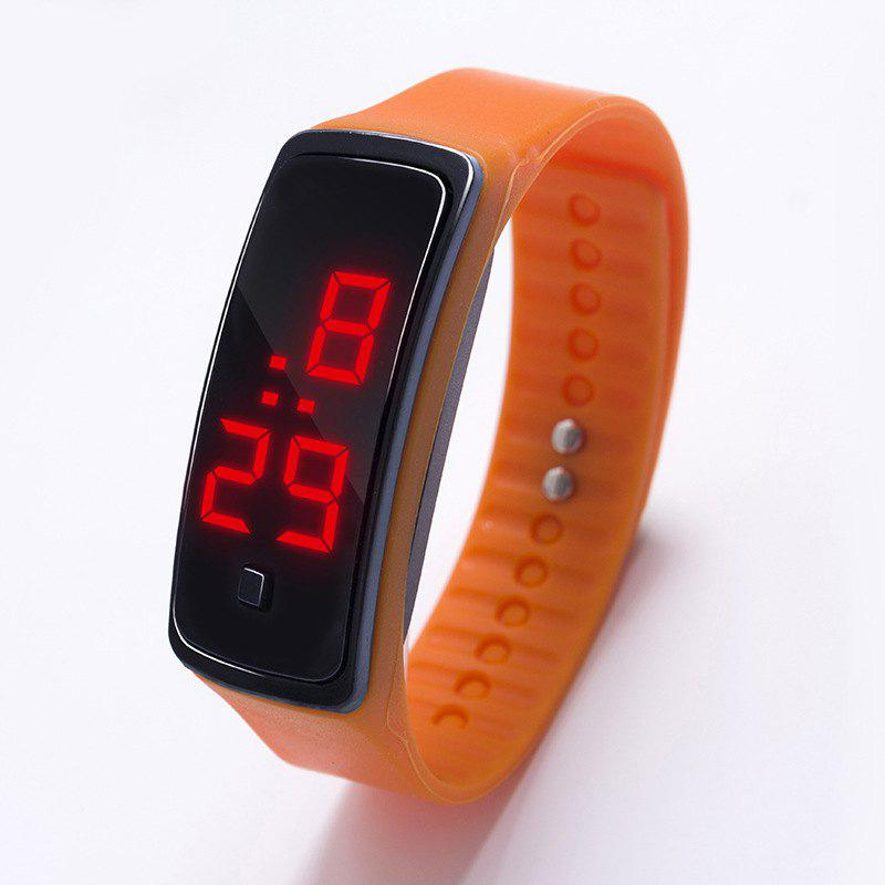 Buy LED Silicone Electronic Sports Watch
