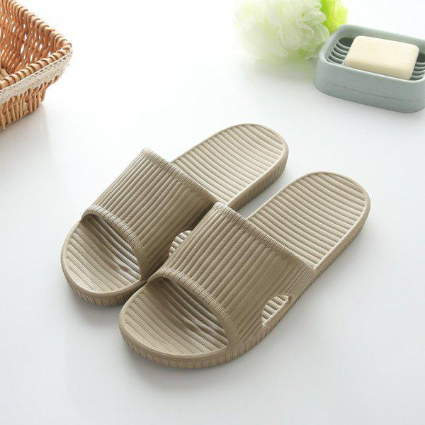 Fancy Practical Male EVA Slippers for Home Shower Use