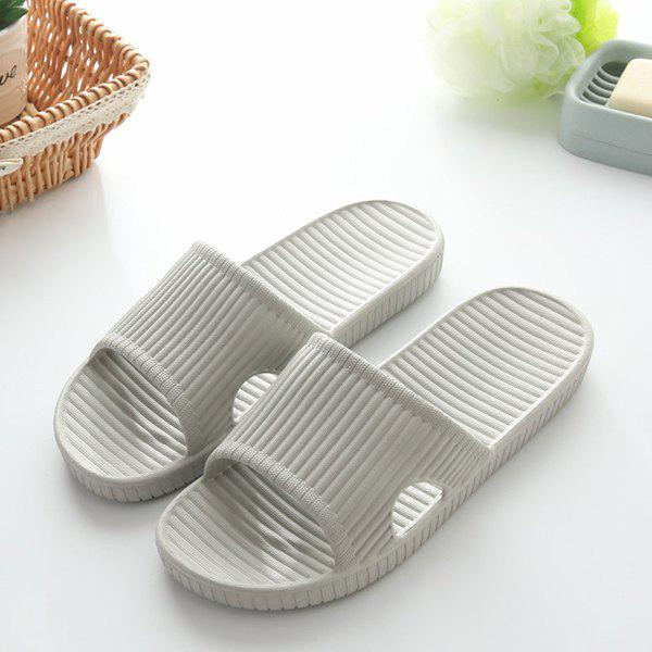 Trendy Practical Male EVA Slippers for Home Shower Use