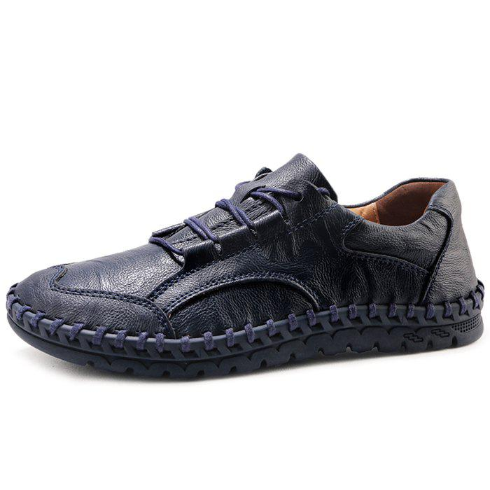 Shops Casual Lace Up Leather Shoes for Men