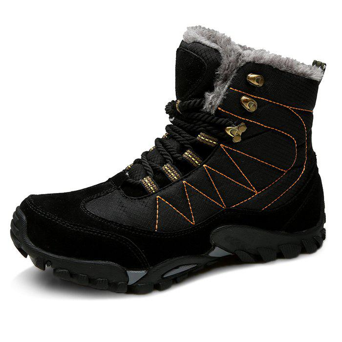 Hot Outdoor Warm Comfortable Classic Lace-up Durable Snow Boots for Men