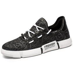 Summer Breathable White Wild Sneakers for Man -