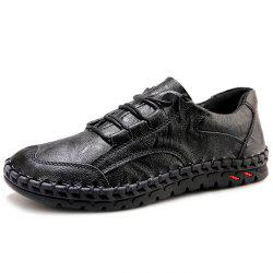 Casual Lace Up Leather Shoes for Men -