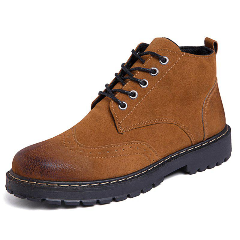 Buy Lace Up Outdoor Work Boots for Men