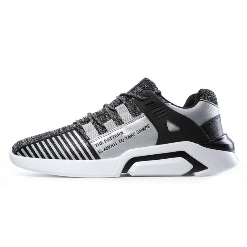 Chic Men Lace Up Mesh Casual Athletic Sports Shoes Sneakers