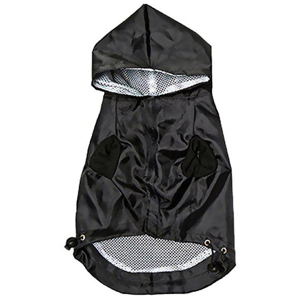 Latest Dog Hooded Raincoat Pet Clothes
