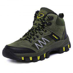Outdoor Comfortable Warm Classic Anti-slip Hiking Shoes for Men -