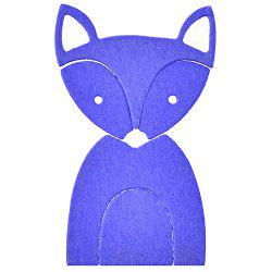 Fox Animal Stencil Mould Carbon Steel Embossing Plate Cutting Die for DIY -