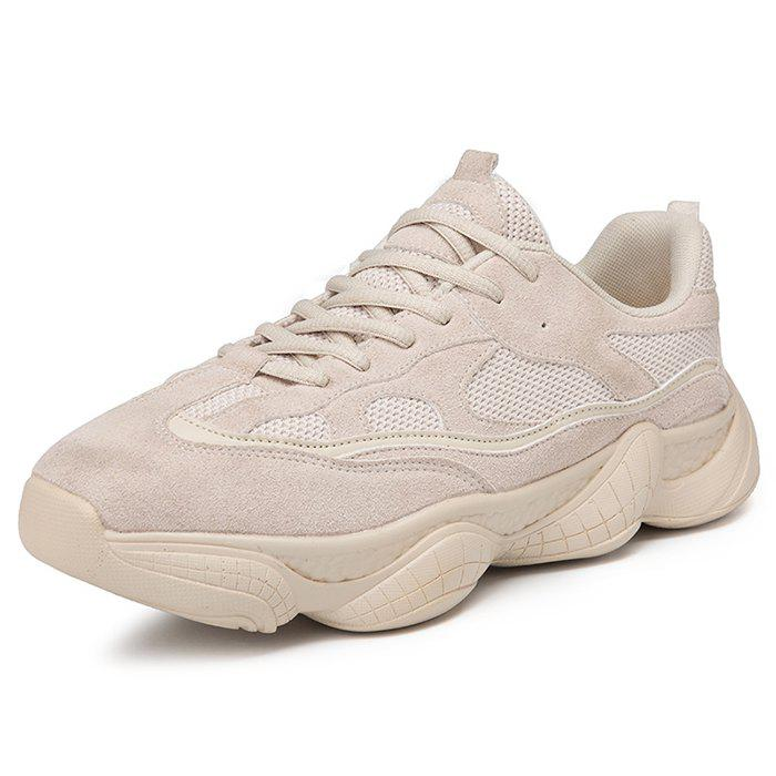 Trendy Casual Thick Breathable Mesh Sneakers for Man