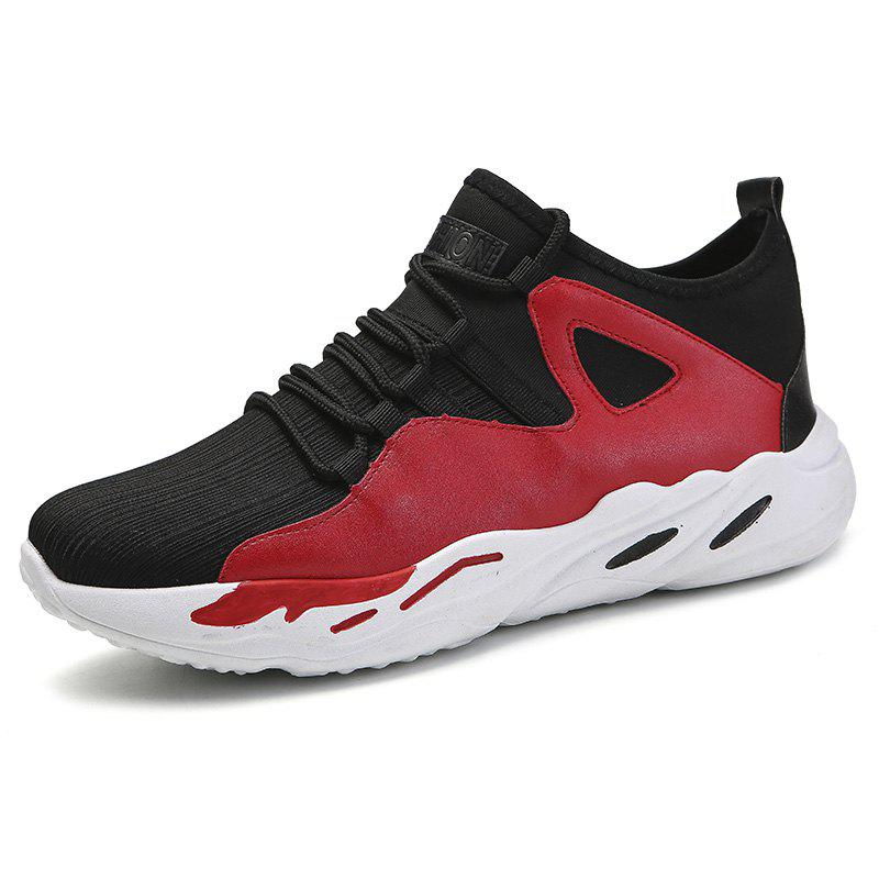 Trendy Men Breathable Casual Athletic Sports Shoes Sneakers