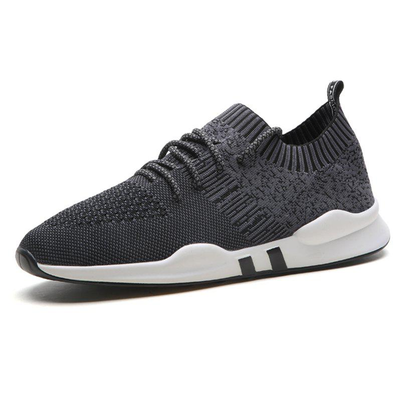 Unique Lace Up Casual Athletic Sports Shoes Sneakers for Men