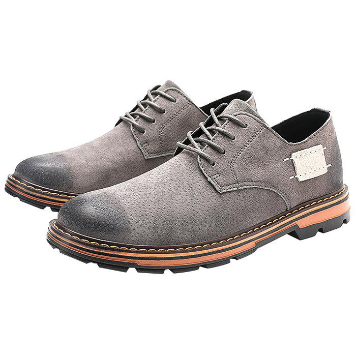 Shops Trendy Casual Pigskin Wearable Shoes for Men