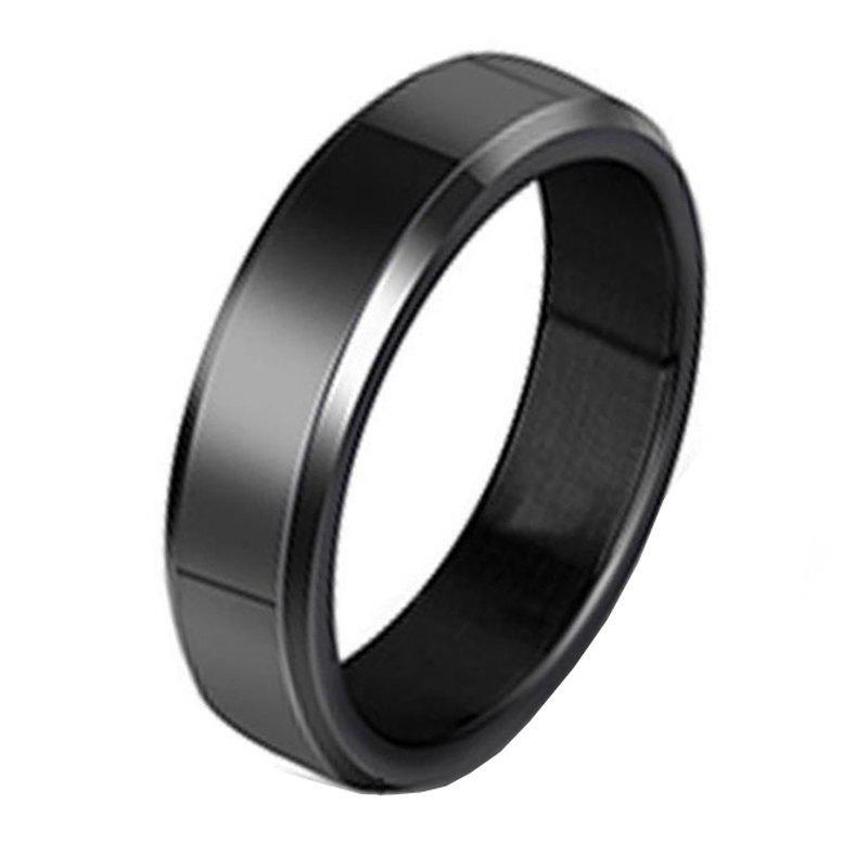 Outfits Stainless Steel Fashion Smooth Ring
