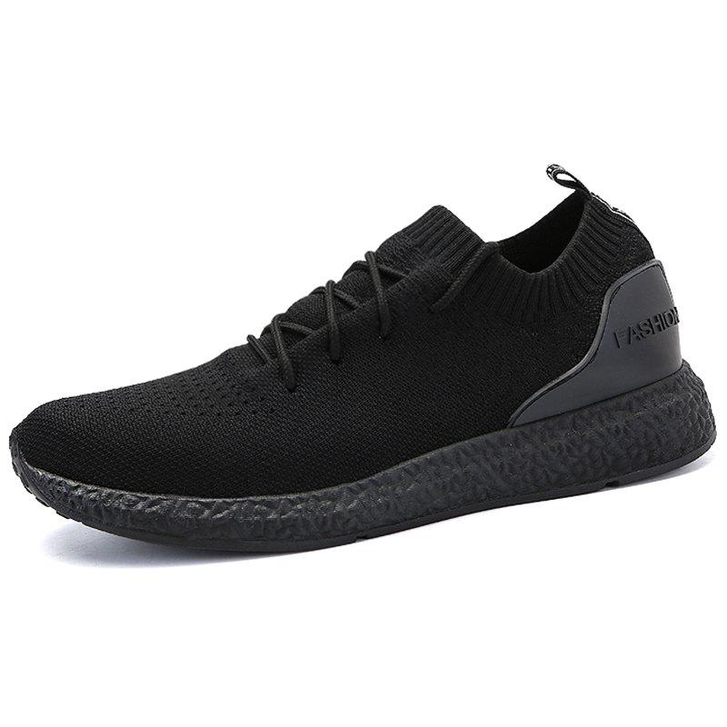 Online Stylish Breathable Anti-slip Woven Sneakers for Men