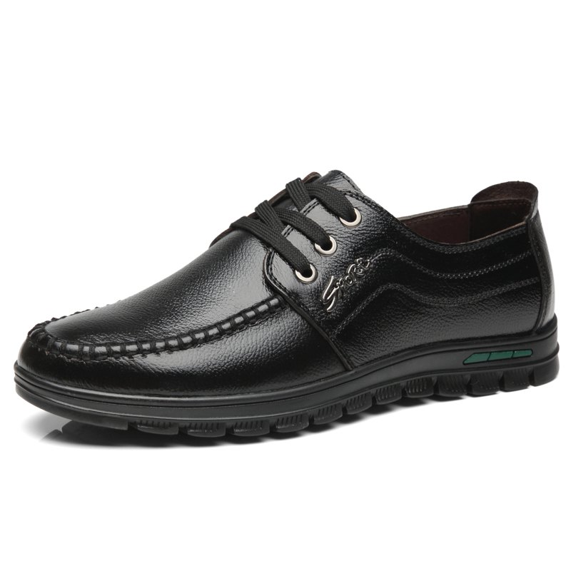 New Lace Up Leather Casual Shoes