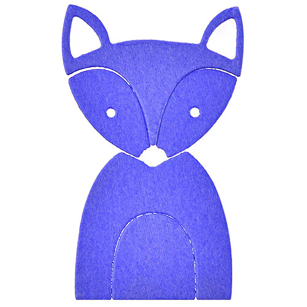 Latest Fox Animal Stencil Mould Carbon Steel Embossing Plate Cutting Die for DIY