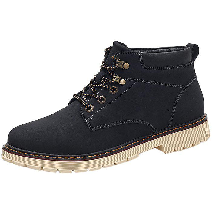 Affordable Classic Vintage Leisure Solid Color Boots