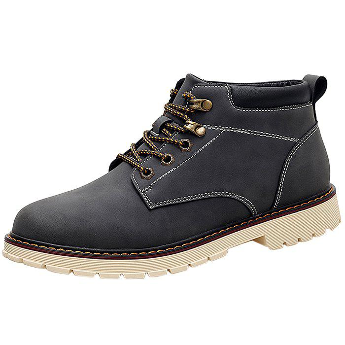 Online Classic Vintage Leisure Solid Color Boots