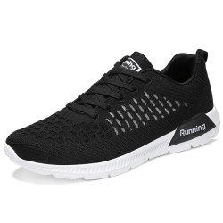 Lace Up Mesh Fabric Casual Athletic Shoes Sneakers for Men -