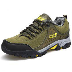 Thickening Suede Mountaineering Shoes for Men -