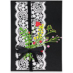 Border Lace Metal Stencil Template DIY Carbon Steel Cutting Die for Cards Album -