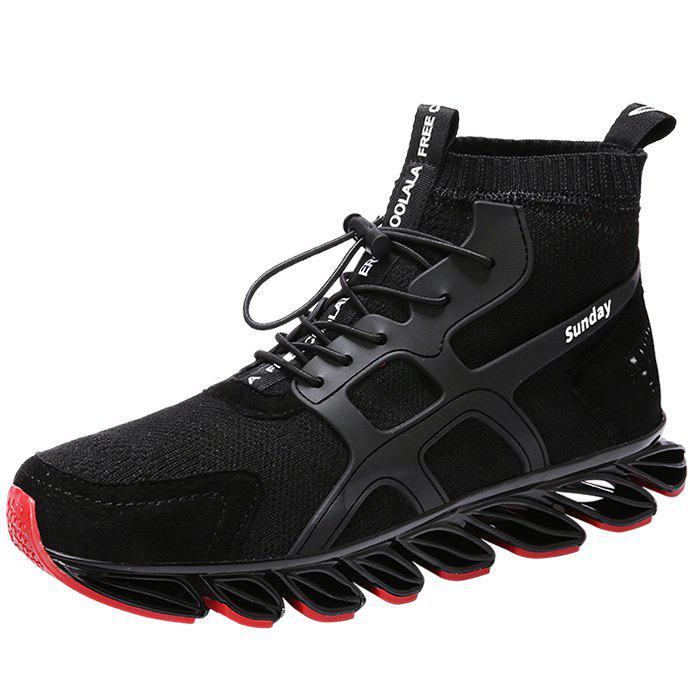 Fancy Fashionable Air Mesh Breathable Sneakers for Men