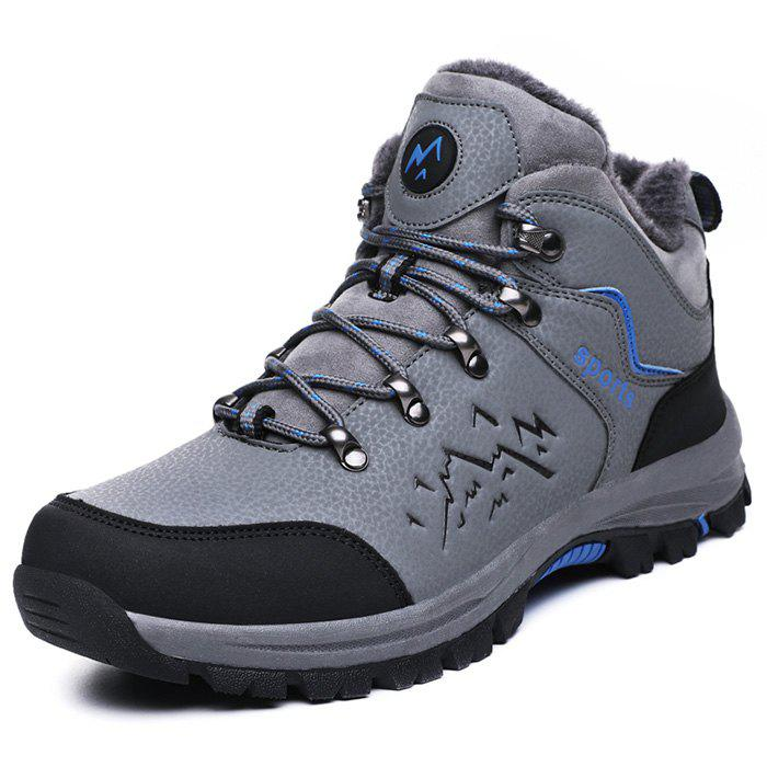 New Thickening Microfiber Mountaineering Shoes for Men