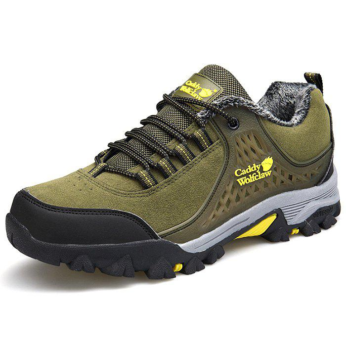 Discount Thickening Suede Mountaineering Shoes for Men