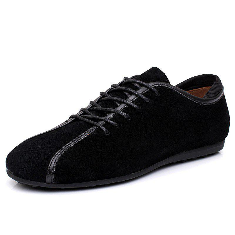 Cheap Suede Loafers Casual Flat Shoes for Men