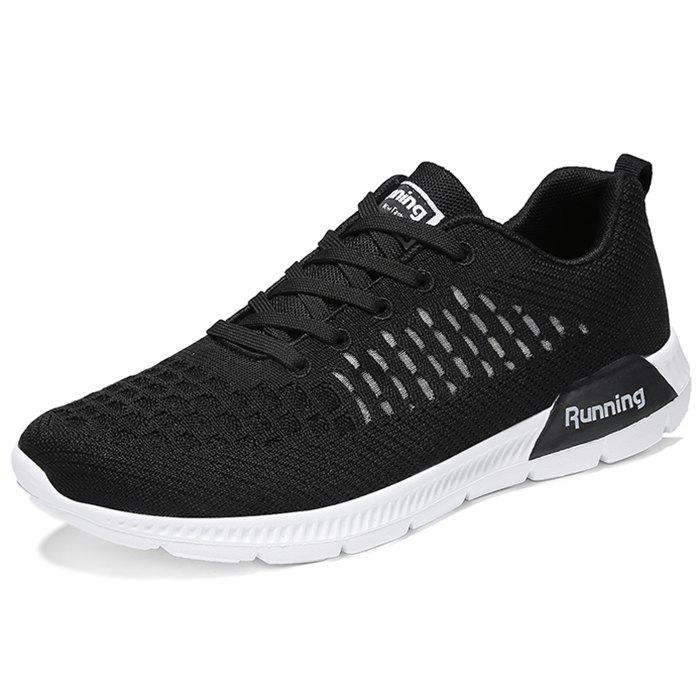 Buy Lace Up Mesh Fabric Casual Athletic Shoes Sneakers for Men