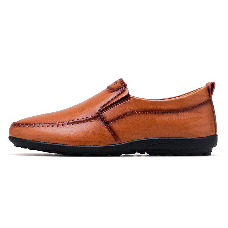 Slip-on élégant Loisirs Chaussures Casual Male Flat Respirant