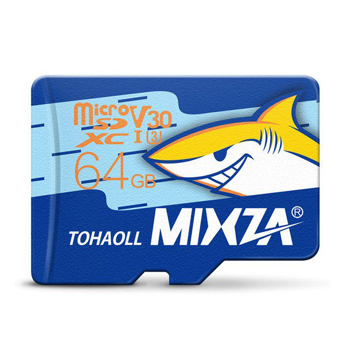 New MIXZA TOHAOLL Ocean Series U3 64GB Micro SD Memory Card - COLORMIX 64GB