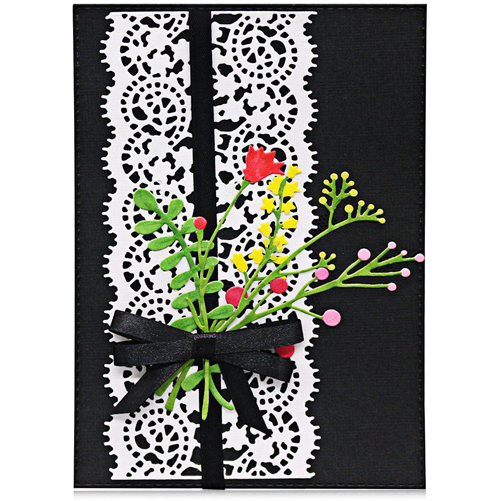 Shops Border Lace Metal Stencil Template DIY Carbon Steel Cutting Die for Cards Album