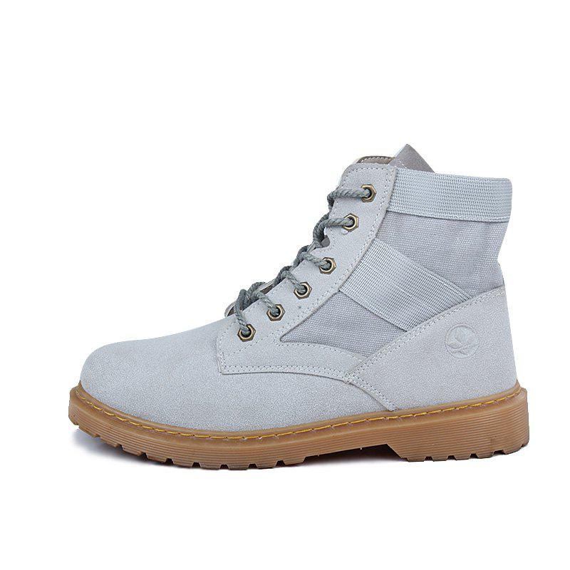 Trendy Trendy High Top Slip-on Boots
