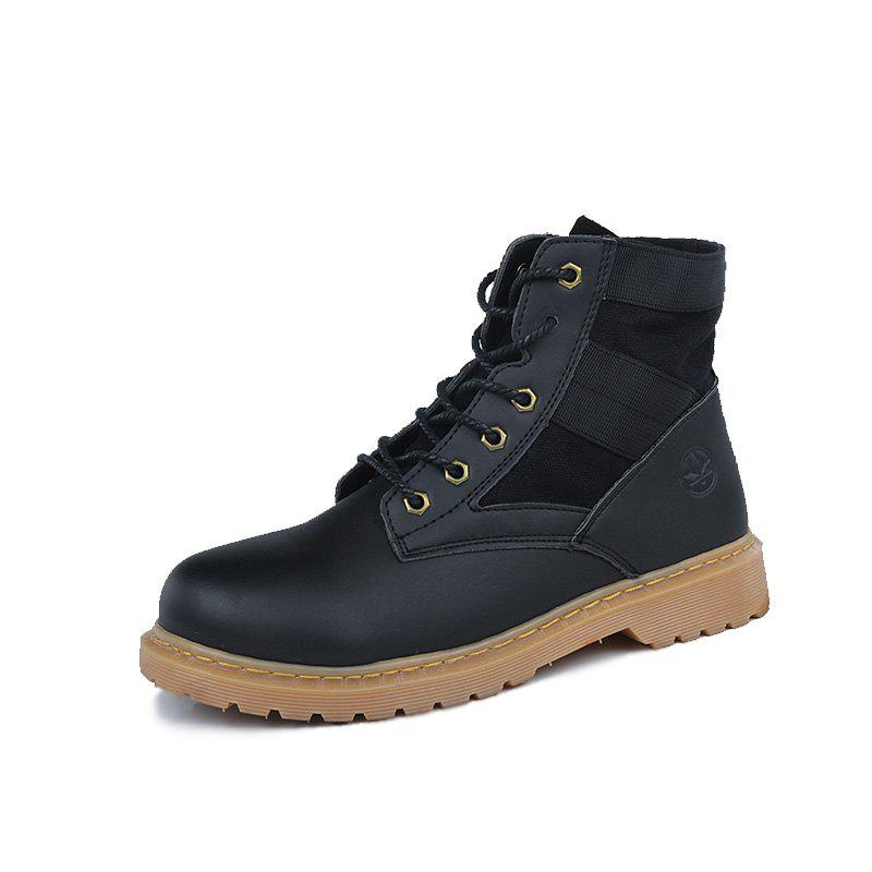 Buy Trendy High Top Slip-on Boots