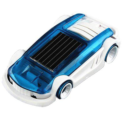 New Children Novelty Science Saline Solar Dual-power Car Toy