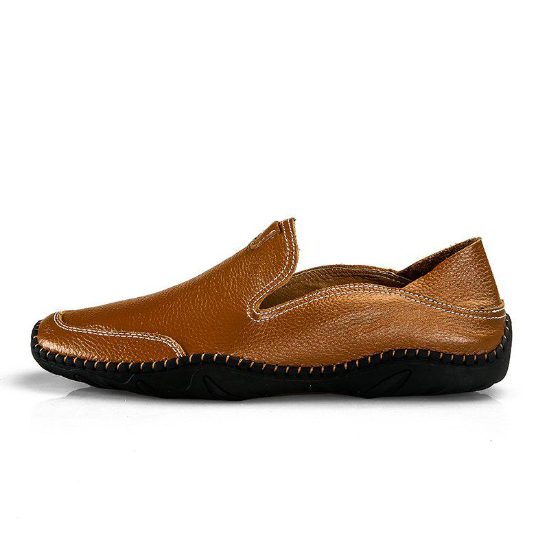 Unique Leather Casual Loafer Shoes for Man