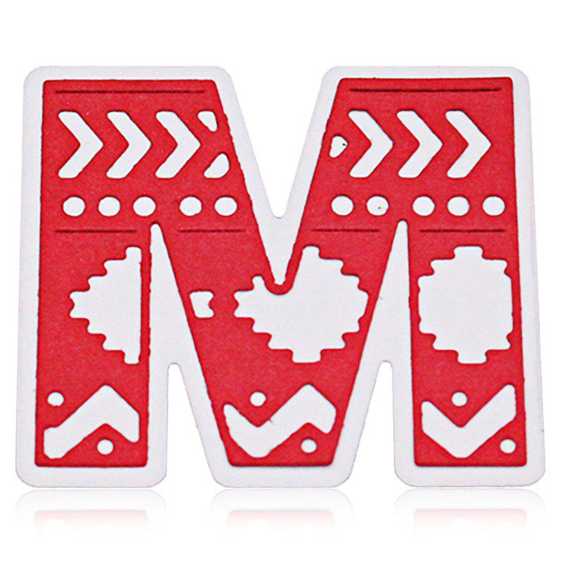 Cheap Delicate DIY Capital Letter M Style Cutting Die
