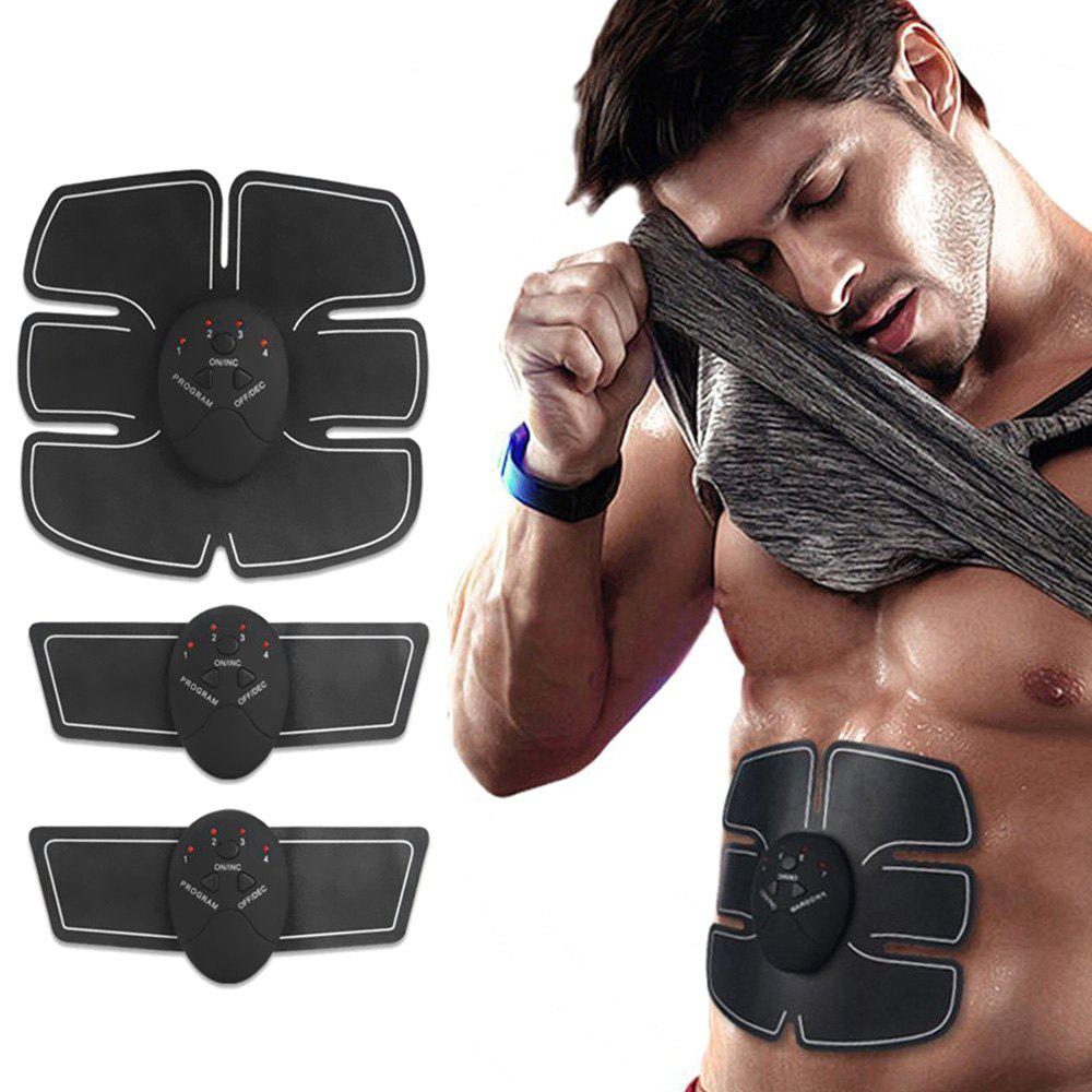 Intelligent Abdominal Exercise Muscle Slimming Sticker Lazy Fitness Training Electric Machine