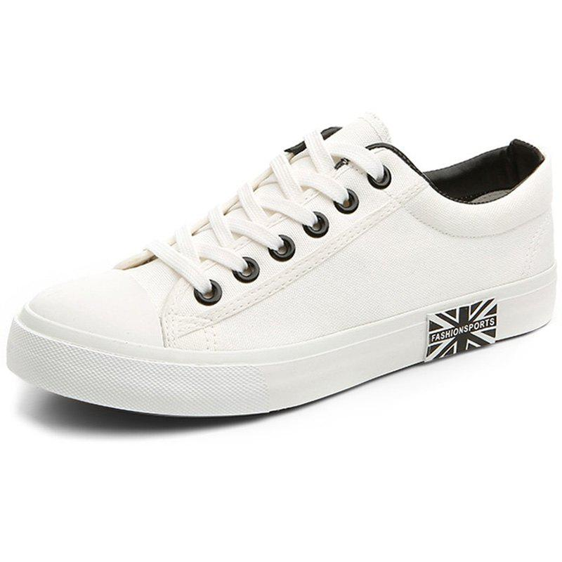 New Men's Canvas Breathable Student Shoes