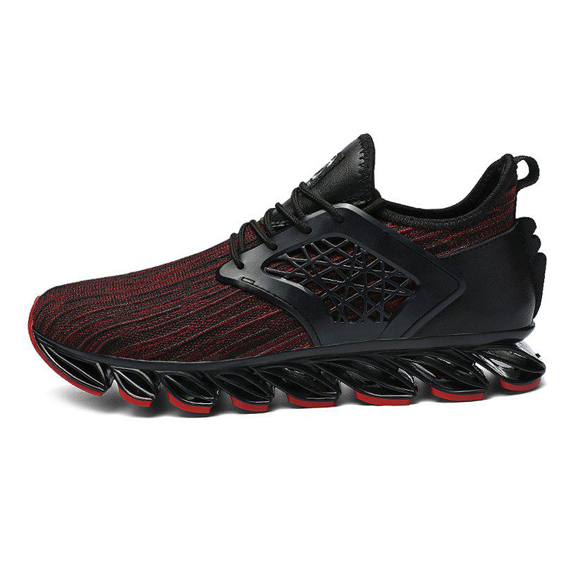 Trendy Men Lace Up Casual Athletic Running Shoes Sneakers