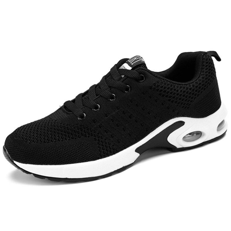 Outfit Men Lace Up Breathable Casual Running Shoes Sneakers