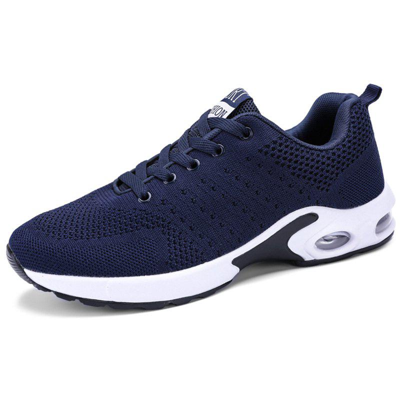 Online Men Lace Up Breathable Casual Running Shoes Sneakers