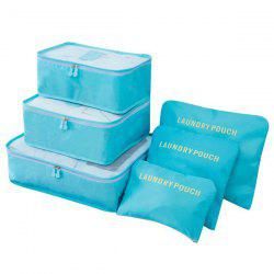 Solid Color Storage Bag for Cloth Packing 6pcs -