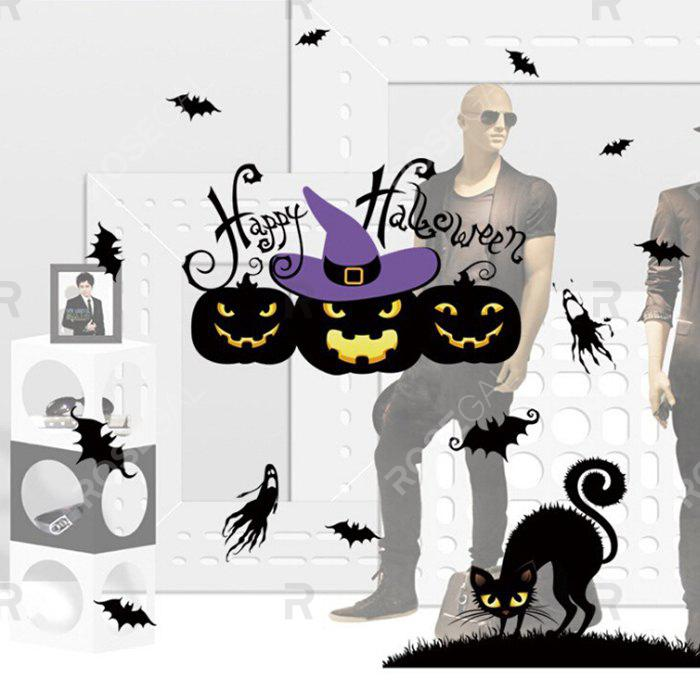 Hot Wallpaper Wall Stickers Mural for Halloween Adornment