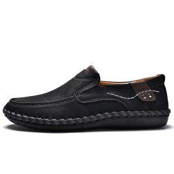 Business Stylish Ventilate Leather Shoes -